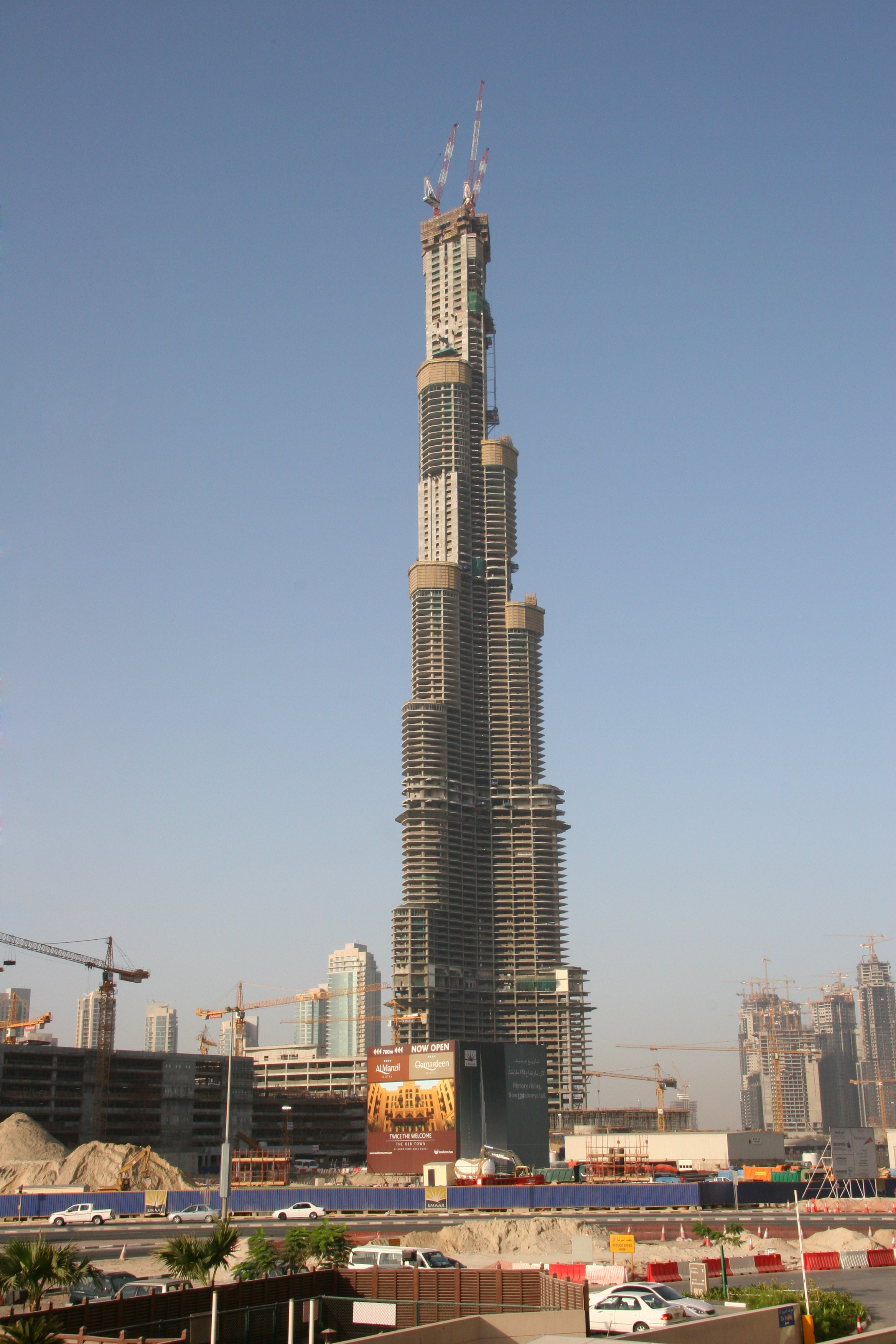 Burj Dubai Postcards From A Traveler