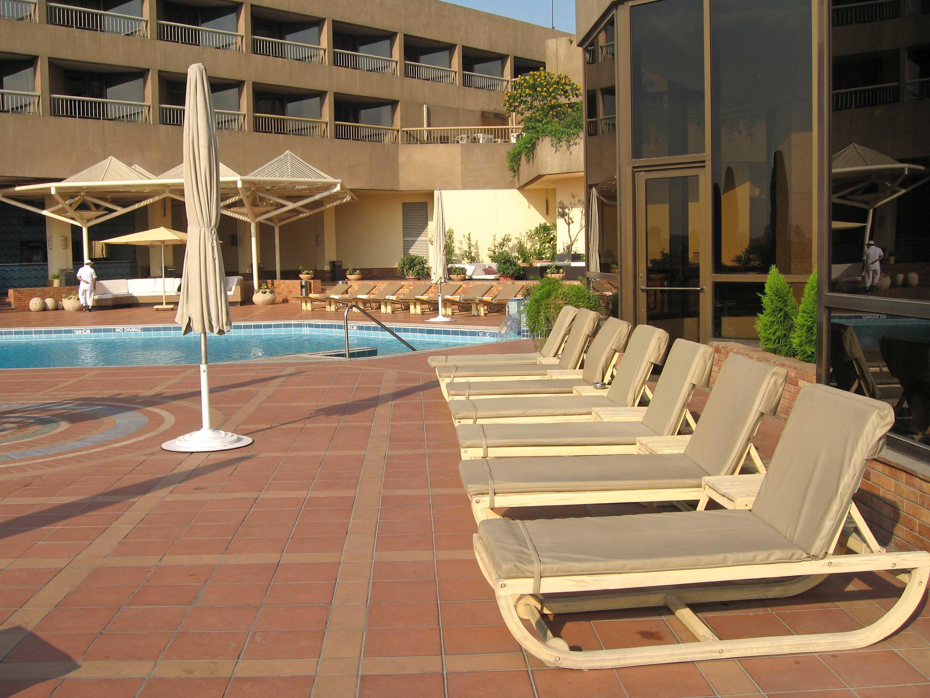 Terrace Cafe Hilton Ramses